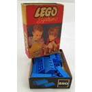 LEGO Sloping Roof Bricks Set (Blue) 280-2