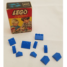 LEGO Sloping Roof Bricks Set (Blue) 281-2