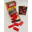 LEGO Sloping Roof Bricks Set (Red) 280-1