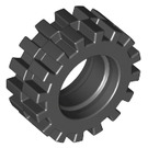 LEGO Small Tire with Offset Tread (without Band Around Center of Tread) (3641)