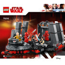 LEGO Snoke's Throne Room Set 75216 Instructions