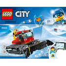 LEGO Snow Groomer Set 60222 Instructions