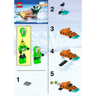 LEGO Snow Scooter Set 6577 Instructions