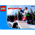 LEGO Snowboard Big Air Comp Set 3536 Instructions