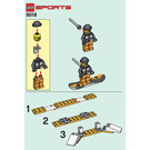 LEGO Snowboard Set 5018 Instructions