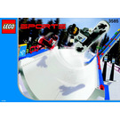 LEGO Snowboard Super Pipe Set 3585 Instructions