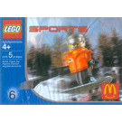 LEGO Snowboarder, Orange Vest Set 7922