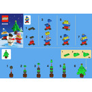 LEGO Snowman Building Set 40008 Instructions