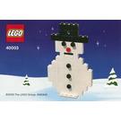 LEGO Snowman Set 40003