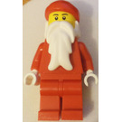 LEGO Snowmobile Santa Minifigure