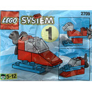 LEGO Snowmobile Set 2709