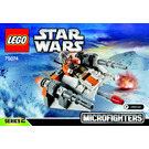 LEGO Snowspeeder Microfighter Set 75074 Instructions