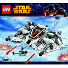LEGO Snowspeeder Set 75049 Instructions