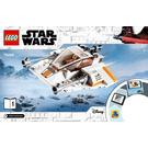 LEGO Snowspeeder Set 75268 Instructions