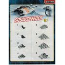 LEGO Snowspeeder Set 912055 Instructions