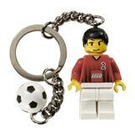 LEGO Soccer Player and Ball Key Chain (3946)