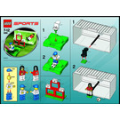 LEGO Soccer Target Practice Set 3568 Instructions