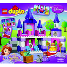 LEGO Sofia the First Royal Castle Set 10595 Instructions