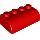 LEGO Soft Brick 2 x 4 with curved top (50855)
