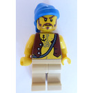 LEGO Soldiers' Fort Pirate with Anchor Tattoo Minifigure