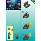 LEGO Solo Sub Set 6110 Instructions