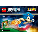 LEGO Sonic the Hedgehog Level Pack Set 71244 Instructions