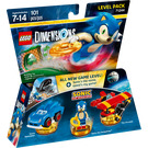 LEGO Sonic the Hedgehog Level Pack Set 71244 Packaging