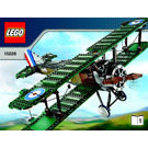 LEGO Sopwith Camel Set 10226 Instructions