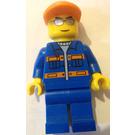 LEGO Space Centre Workman Minifigure