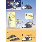 LEGO Space Jet Set 1181 Instructions
