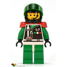 LEGO Space Police 2 Chief - Captain Magenta Minifigure