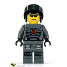 LEGO Space Police 3 Officer 10 Minifigure