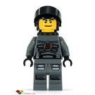 LEGO Space Police 3 Officer 4 with Airtanks Minifigure