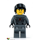 LEGO Space Police 3 Officer 6 Minifigure
