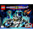 LEGO Space Police Central Set 5985 Instructions