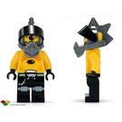 LEGO Space Police III Snake with Visor Minifigure