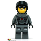 LEGO Space Police Officer with Airtanks Minifigure