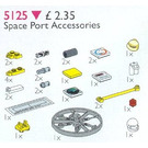 LEGO Space Port Accessories (Launch Command Accessories) Set 5125