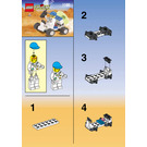 LEGO Space Port Moon Buggy Set 1180 Instructions