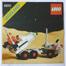 LEGO Space Probe Launcher Set 6870 Instructions