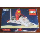 LEGO Space Scooter Set 885 Packaging
