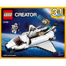 LEGO Space Shuttle Explorer Set 31066 Instructions