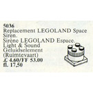 LEGO Space Siren Set 5036