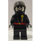 LEGO Space Skull Commander Minifigure with Torso Sticker