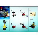 LEGO Space Speeder Set 8400 Instructions