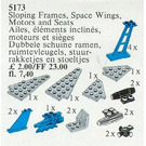 LEGO Space Wings, Sloping Frames, Space Motors and Seats Set 5173