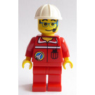 LEGO Spaceport Ground Control Worker with White Helmet Minifigure