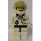LEGO Spaceport with Black Hips and Large Gold Visor Minifigure