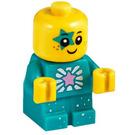 LEGO Sparkle Baby (Green) Minifigure