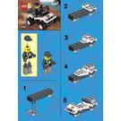 LEGO Speed Patroller Set 1297 Instructions
